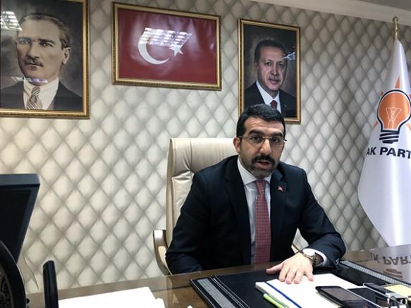 """AK Parti İl Başkanı Adem Çalkın; """"Aklını yitirmişleri uyarıyorum"""""""