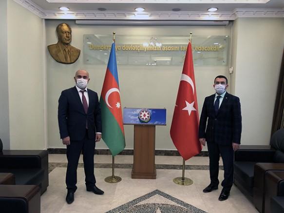 """AK Parti İl Başkanı Adem Çalkın: """"Can Azerbaycan'ın yanındayız"""""""