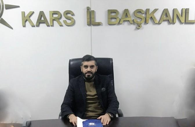 """AK Parti Kars Gençlik Kolları """"Komşuluk Seferberliği"""" başlattı"""