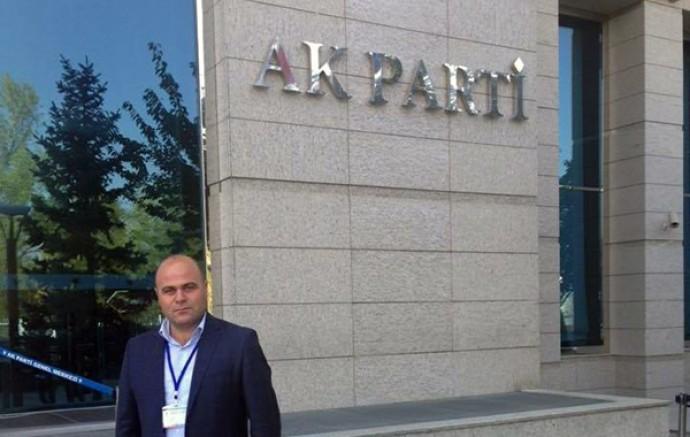 AK Parti Kars Merkez İlçe Başkanlığına Muammer Sancar atandı