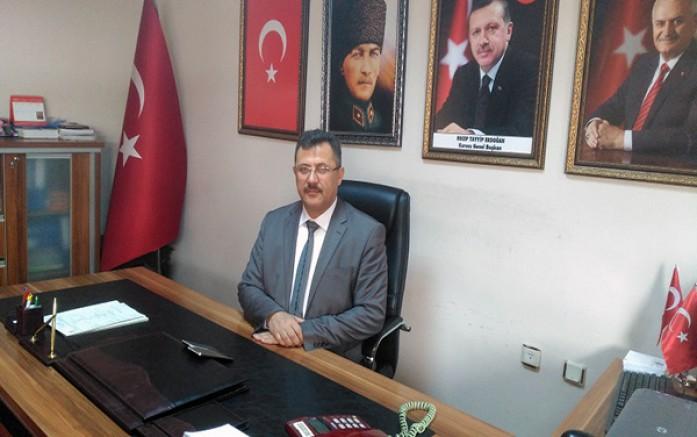 AK Parti Merkez İlçe Başkanının istifası istendi