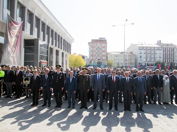 Atatürk'ün Kars'a gelişinin 95'nci yıl dönümü kutlandı