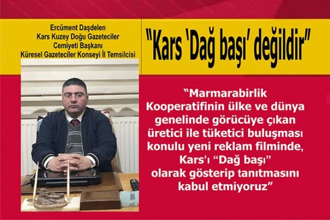 """Başkan Ercüment Daşdelen: """"Kars 'Dağ başı' değildir"""""""