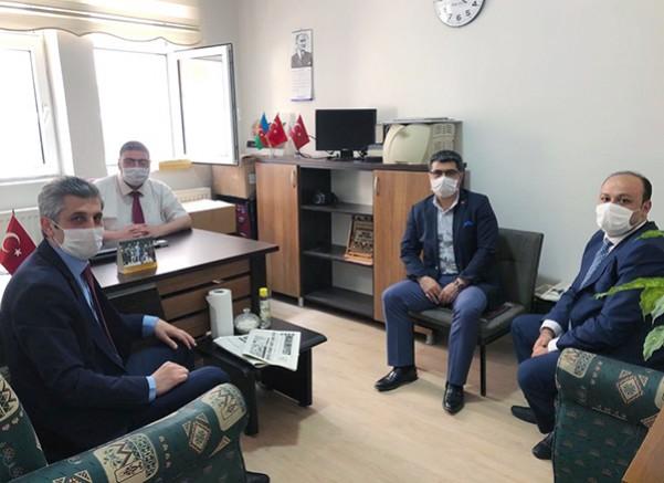 BİK Erzurum Şube Müdürü Tahsin Şahin, Kars'a geldi