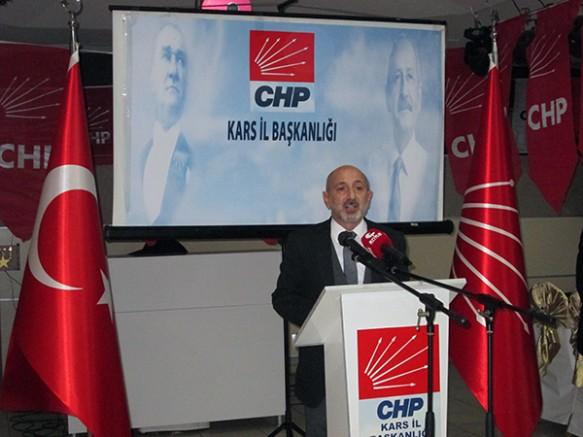 CHP'nin 20 kişilik Milletvekili ve Yöneticileri Kars'a çıkarma yaptı