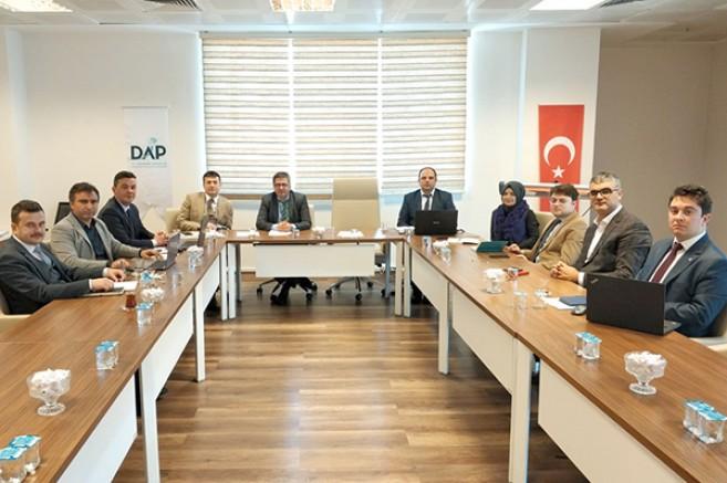 'DAP Eylem Planı' hazırlık çalışmaları başladı