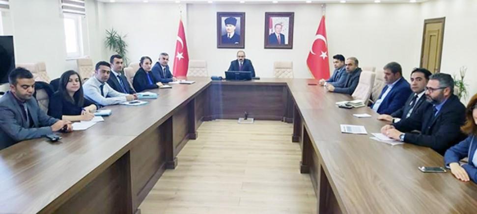 DSİ Kars 24. Bölge Koordinasyonunda İl Su Yönetimi toplantısı yapıldı
