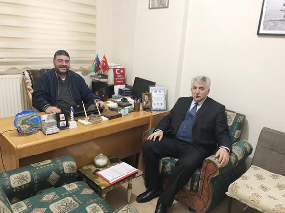 Gençlik ve Spor İl Müdürü Gürsel Polat'dan Ercüment Daşdelen'e 'hayırlı olsun' ziyareti