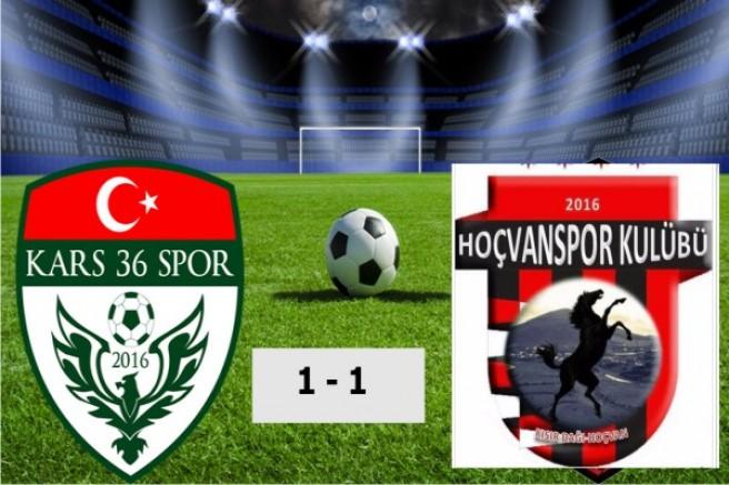 Hoçvanspor 1 – Kars36 Spor 1