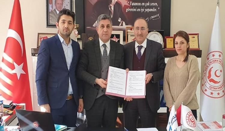 İŞKUR ve Sosyal Hizmetler İl Müdürlüğü protokol imzaladı