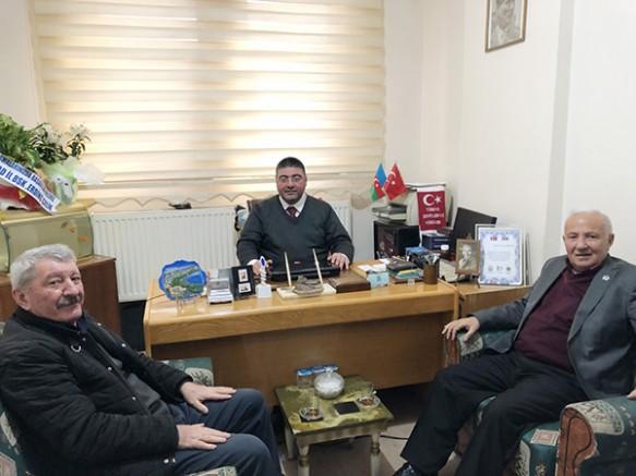 İYİ Parti Kars İl Teşkilatından, Ercüment Daşdelen'e 'hayırlı olsun' ziyareti