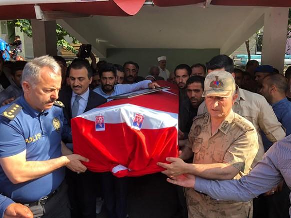 Kağızman'da PKK tarafından öldürülen çoban toprağa verildi
