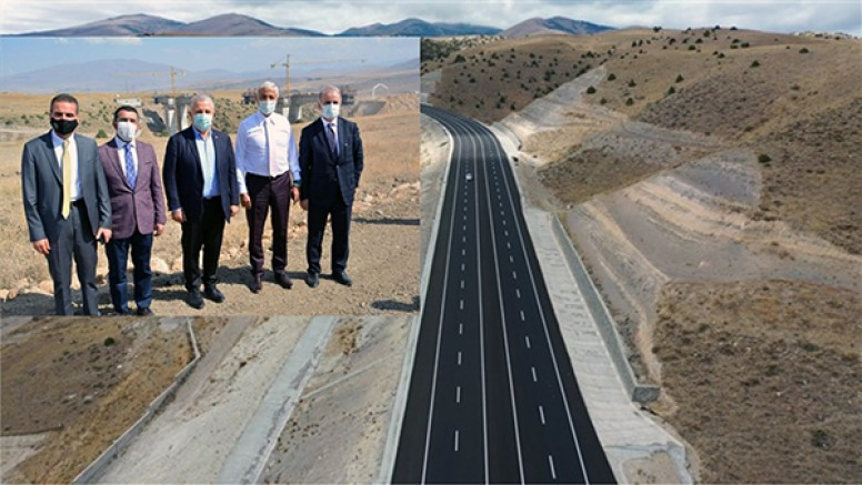 Karakurt-Horasan yeni yolu açılıyor