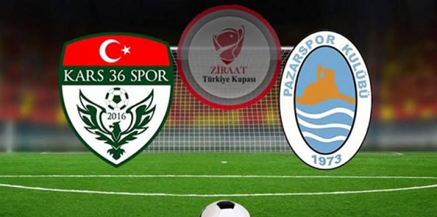Kars 36 Spor Ziraat Türkiye Kupasından elendi