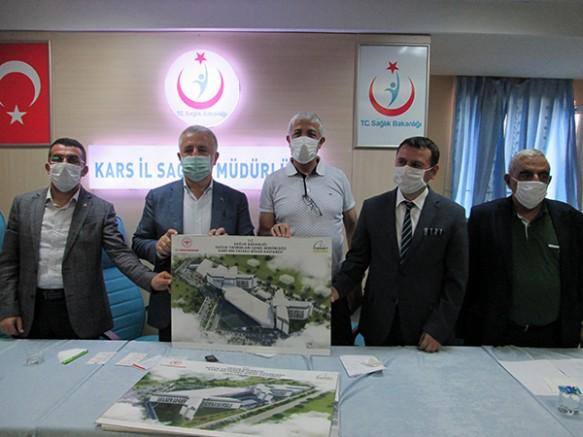 Kars'a, 500 yataklı Şehir Hastanesi yapılacak