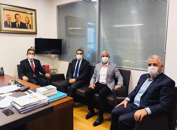 Kars'a hizmet için Ankara'da görüşmeler devam ediyor