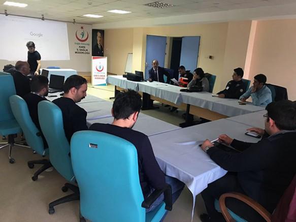 Kars AFAD, Yerel Hizmet Gruplarına AYDES eğitimi verdi
