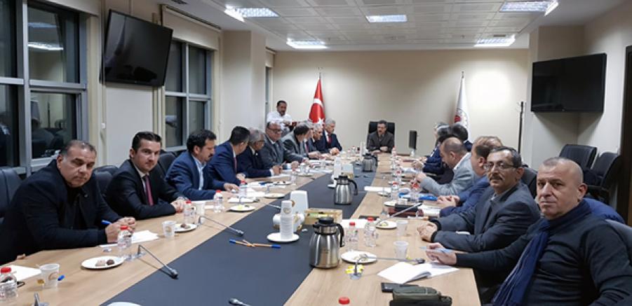 Kars Bölgesi VHO, Veteriner Hekimliklerin sorunlarını Ankara'da anlattı