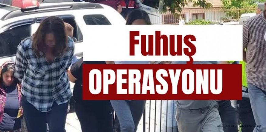 Kars Emniyetinden başarılı fuhuş operasyonu: 41 gözaltı