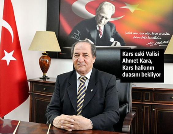 Kars eski Valisi Ahmet Kara, 20 gündür tedavi görüyor