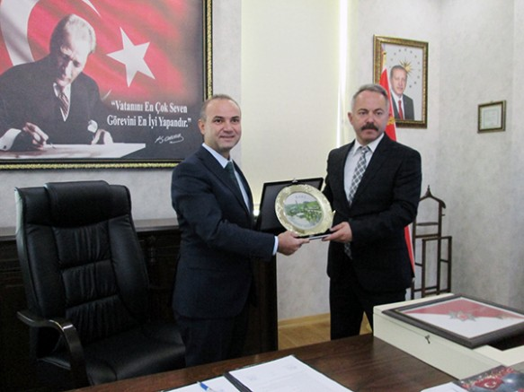 Kars İl Emniyet Müdürü Yavuz Sağdıç, görevine başladı