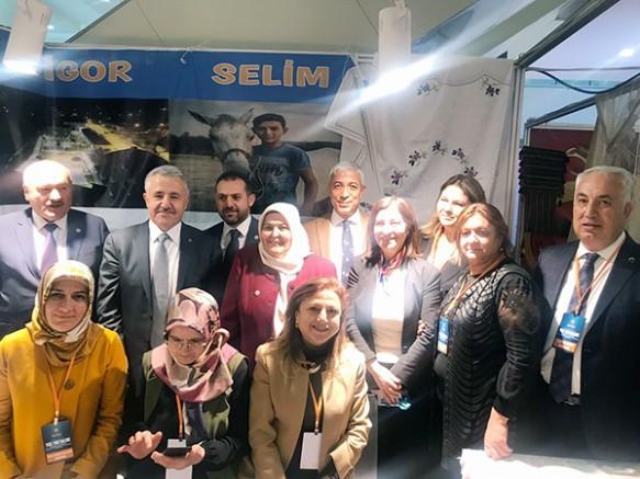 Kars'ın ürünleri, Uluslararası Yerel Yönetimlerde Kadın Şurası'nda tanıtıldı