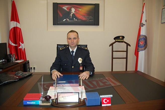 Kars'ın yeni Emniyet Müdürü Yavuz Sağdıç