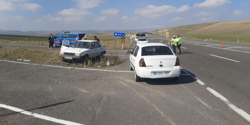 Kars-Susuz karayolunda trafik kazası