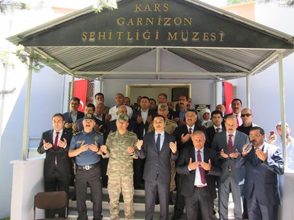 Kars'ta, 15 Temmuz Demokrasi ve Milli Birlik Günü etkinlikleri başladı