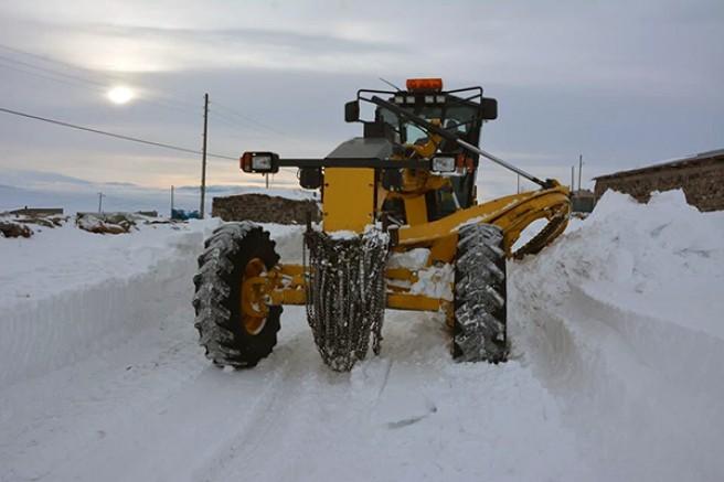 Kars'ta, 23 köy yolu ulaşıma kapandı