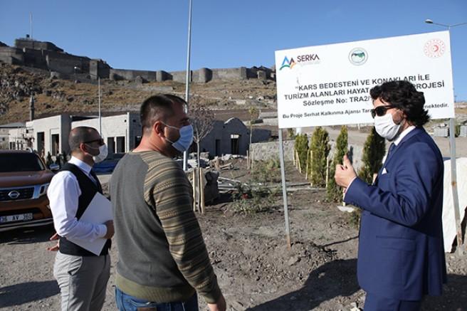 Kars'ta, 3 büyük proje bitmek üzere