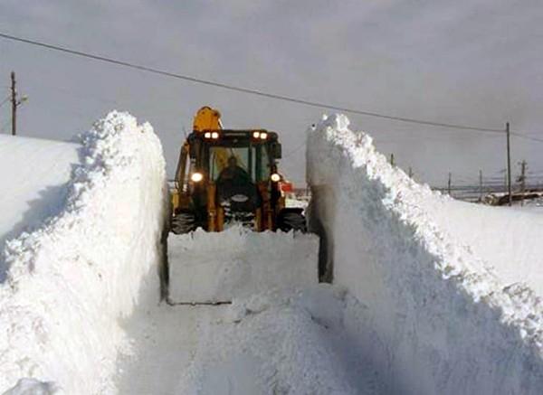 Kars'ta, 34 köy yolu ulaşıma kapandı