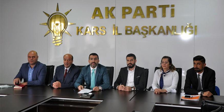 Kars'ta AK Partililer Adnan Menderes ve arkadaşlarını unutmadı