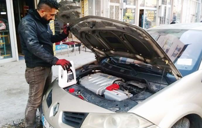 Kars'ta, araç sahiplerine kışlık bakım uyarısı