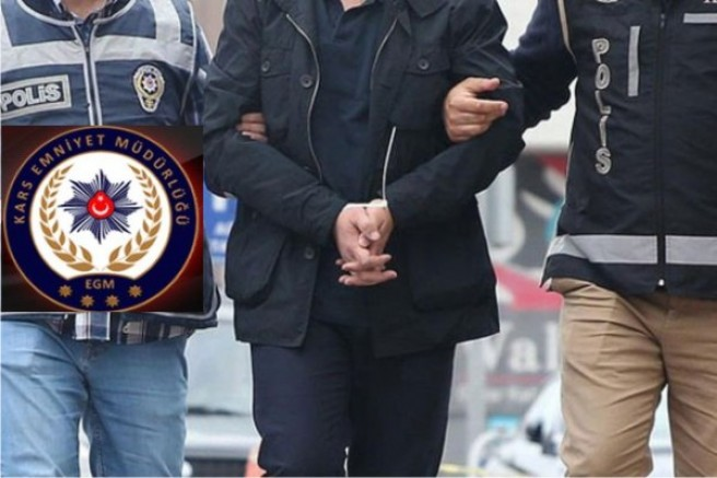 Kars'ta, aranan şahıslara yönelik operasyon: 2 kişi tutuklandı