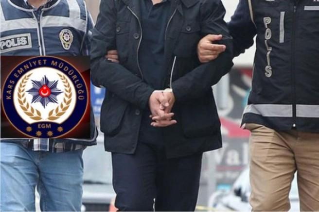 Kars'ta izinsiz ses kaydı iddiasıyla bir internet sitesi sahibi gözaltına alındı