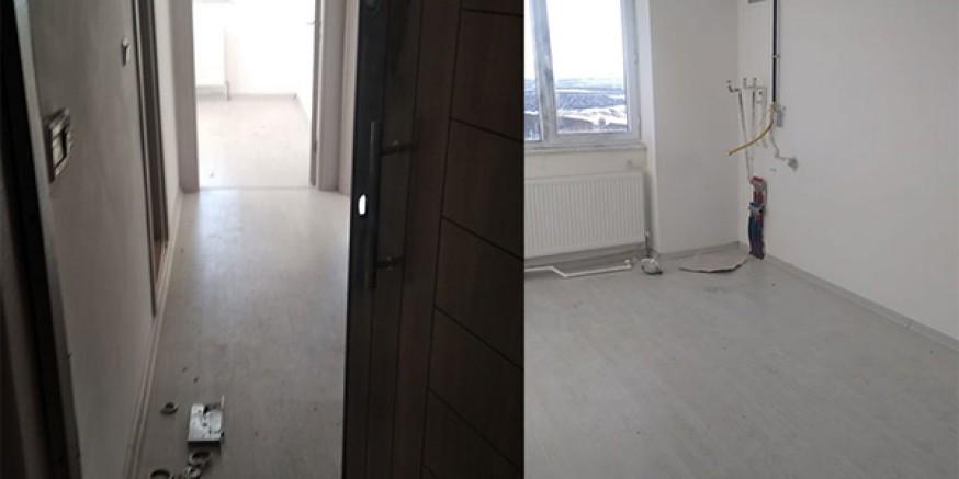 Kars'ta kısıtlamayı fırsat bilen hırsızlar apartlara dadandı