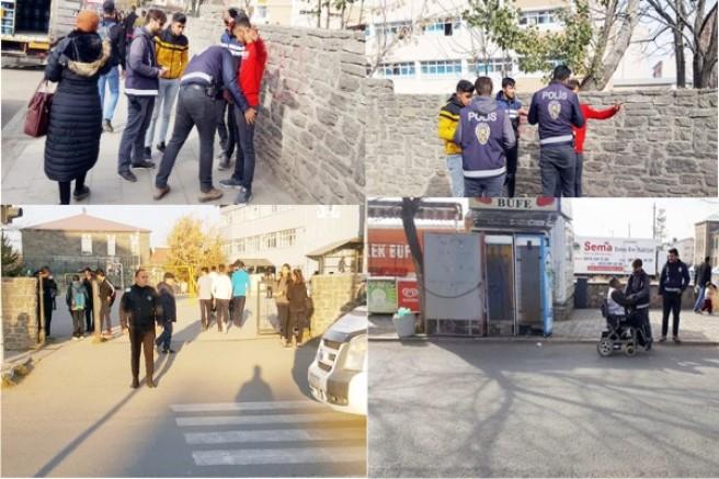 """Kars'ta, """"Okul Polisi ve Özel Güvenlik"""" uygulaması ile öğrenciler daha güvende"""