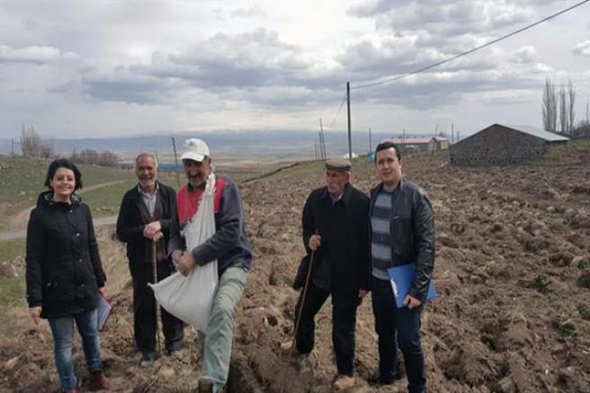 Kars'ta tarımsal işletme ziyaretleri