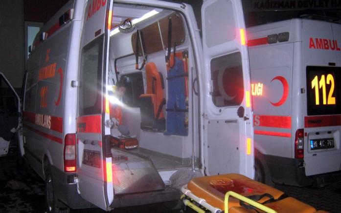 Kars'ta, tartıştığı karısını bıçaklayan koca yakalandı