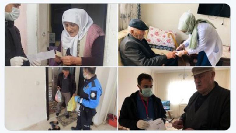 Kars'ta, ''Vefa Sosyal Destek Grubu'', 2 bin 446 talebi karşıladı