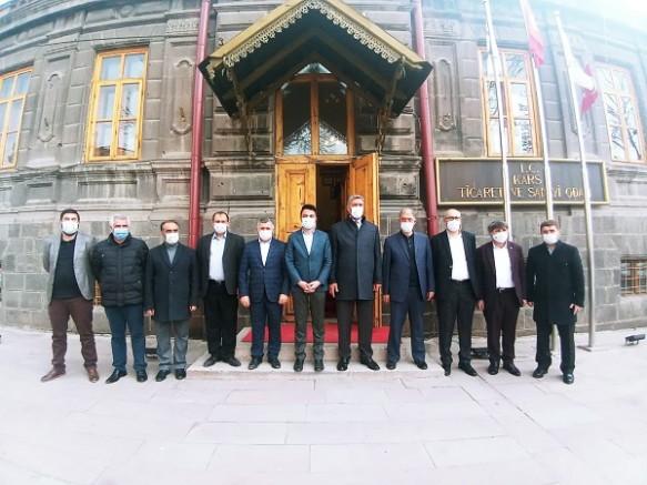Kars'taki Sivil Toplum Kuruluşlarından Emekli Amirallere ortak tepki