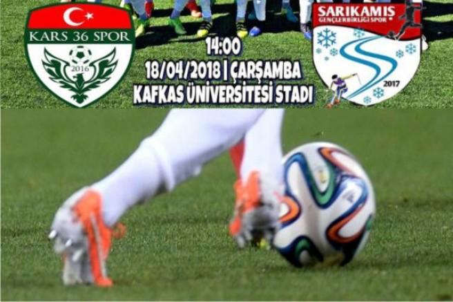 Kars36 Spor, Sarıkamış Gençler Birliği Spor ile baraj maçında karşılaşacak