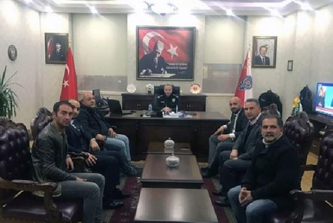 KARSOD Turizm Birliği, Emniyet Müdürü Yavuz Sağdıç'ı ziyaret etti
