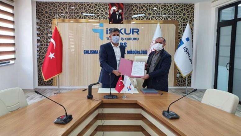 KAÜ ile İŞKUR arasında protokol imzalandı
