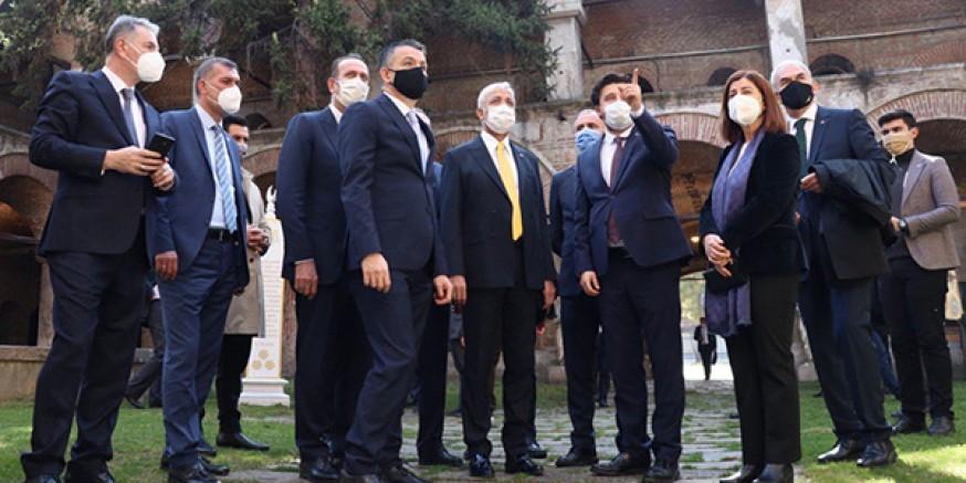 Komisyon Başkanı Yunus Kılıç, yurt dışı temasları sonrası yurda döndü