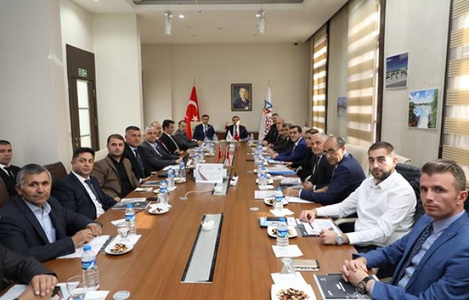 KÜSİ Planlama ve Geliştirme Kurulu Toplantısı yapıldı