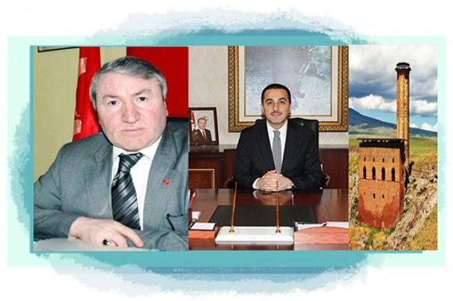 MHP Kars eski İl Başkanı Oktay Aktaş'dan, Vali Türker Öksüz'e teşekkür