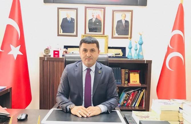 MHP Kars İl Başkanı Tolga Adıgüzel'den teşekkür