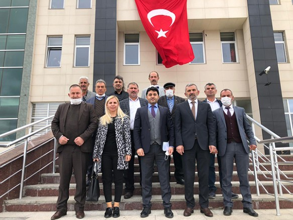 MHP Kars İl Başkanı Tolga Adıgüzel, mazbatasını aldı